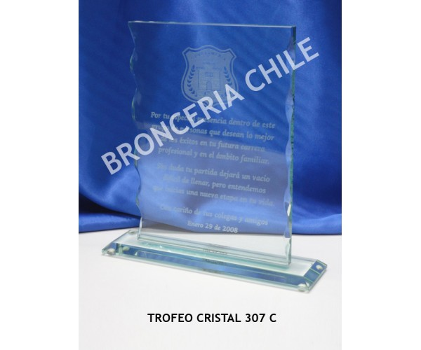 Galvano Cristal 307C